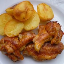 Marinated Fried Chicken Wings