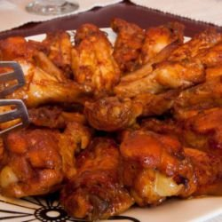 Chicken Wings with Pepsi