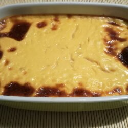 Cream Caramel with Couscous