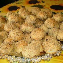 Cookie Balls with Turkish Delight