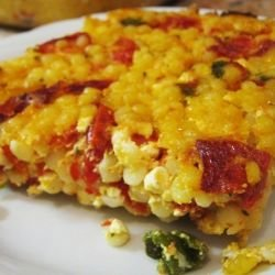 Couscous with Peppers and Eggs