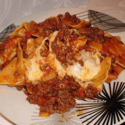 Quick Minced Meat Lasagna