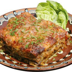 Lasagna with Mushrooms