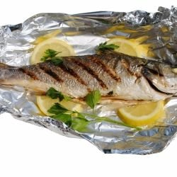 Gilt-Head Bream in Foil