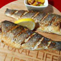 Grilled Sea Bass with Bay Leaf