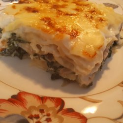 Feta Cheese and Spinach Lasagna