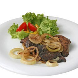 Sauteed Beef Liver