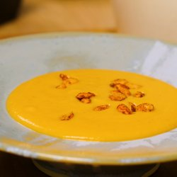 Red Lentil and Sweet Potato Cream Soup