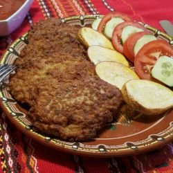 Easy Mince Schnitzels