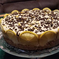 Fresh Lemon Cheesecake