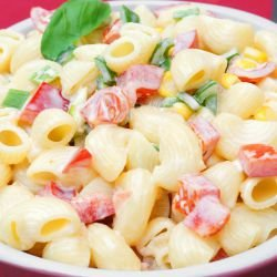 American Salad with Macaroni