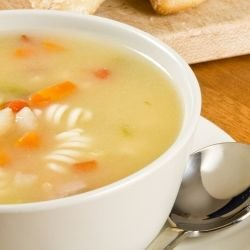 Soup with Macaroni and Potatoes