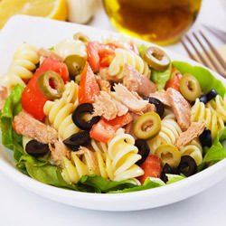 Macaroni Salad with Tuna