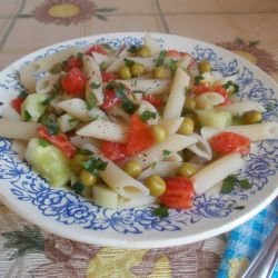 Macaroni Salad with Cucumbers