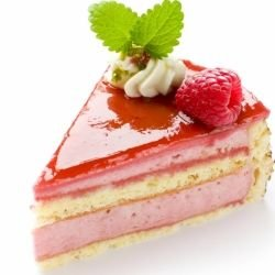Raspberry Cake with Jelly