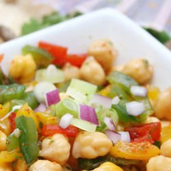 Arabian Chickpea Salad