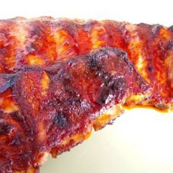 Marinated Pork Ribs with Whiskey