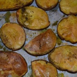 Lazy Baked Potatoes