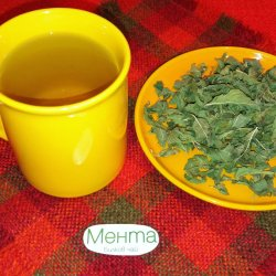 Mint Tea for Good Memory and Concentration