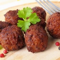 Stuffed Mince Balls