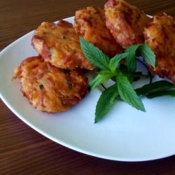 Carrot Meatballs with Salami