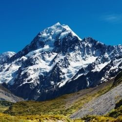 Most beautiful mountains  -  Mount Cook - Aoraki