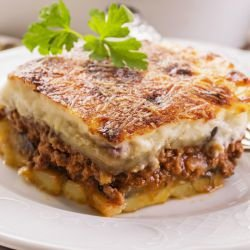 Greek Moussaka with Bechamel Sauce