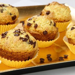 Muffins with Coffee and Chocolate