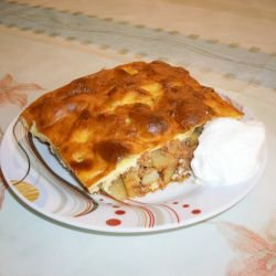 Moussaka with Yoghurt