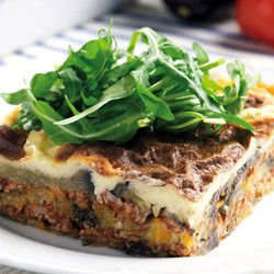 Juicy Eggplant Moussaka