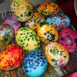 Sprinkled Easter Eggs