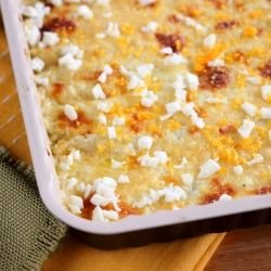 Rice with Feta Cheese in the Oven