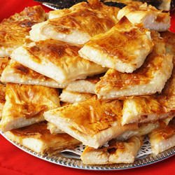 Phyllo Pastry with Cheeses