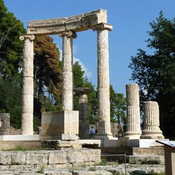 Philae Temple - Olympia in Greece