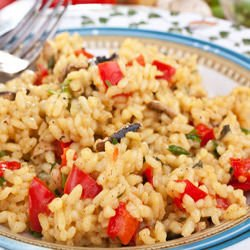 Pakistani Rice with Peppers