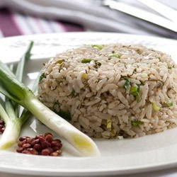 Lean Rice with Onions