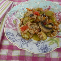 Rice with Vegetables and Soya Sauce