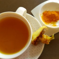 Super Healthy Ginger and Turmeric Concoction
