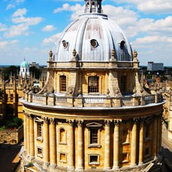 Oxford -  Bodleian Library - Radcliffe Chamber