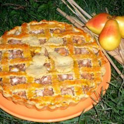Pie with Pears and Walnuts