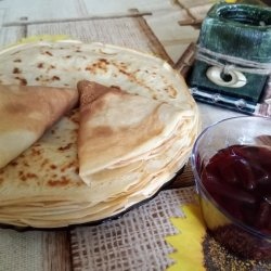 Quick, Easy and Tasty Pancakes with Carbonated Water