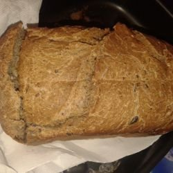Wholegrain Bread in a Breadmaker