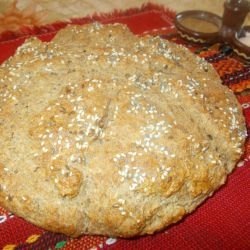 Pita with Whole Wheat Flour