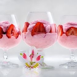 Russian Pink Cloud Dessert