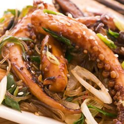 Deep Fried Octopus