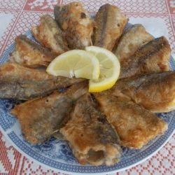 Fried Crucian Carp