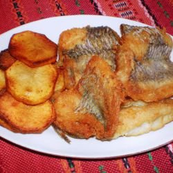 Crunchy Fried Hake
