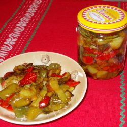 Fried Peppers in Jars for the Winter