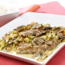Pork Chops with Tasty Mushroom Sauce