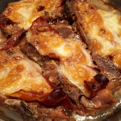 Pork Chops with Bacon and Cheese